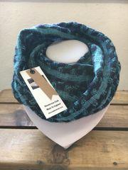 Handwoven Silk & Wool checked Art Scarf