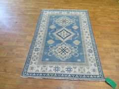 #1103 Antique look handwoven 100% pure wool Kazakh rug size 3'x5'