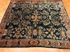 ANTIQUE HANDWOVEN PERSIAN MALAYER RUG SIZE 5'X6' CIRCA 1920s