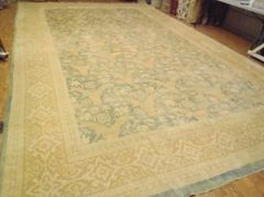 #L00509 LIGHT COLORED ANTIQUE LOOK PERSIAN SULTANABAD SIZE 12'X20'