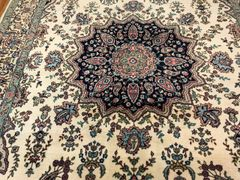 ANTIQUE HANDWOVEN PERSIAN KERMAN RUG SIZE 7'X10'