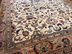 "#L00461 ANTIQUE LOOK HANDWOVEN SULTANABAD MAHAL SIZE 13'4""X16'8"""