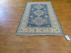 #1102 Antique look Kazakh rug 100% pure wool size 3'x5'
