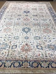 Decorative 100% pure wool Handwoven Persian Herize rug size 14'x20'