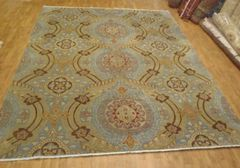 Decorative handwoven modern rug size 8'x10' made in India