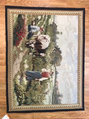 #S000196 100% pure Handwoven Tapestry wall hanging size 3'x5'
