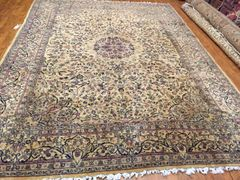 TRADITIONAL HANDWOVEN PERSIAN KASHAN SIZE 8'X11'