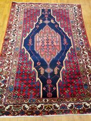 #5010 HANDWOVEN PERSIAN 100% PURE WOOL BAKHTIARY RUG SIZE 4'X6'