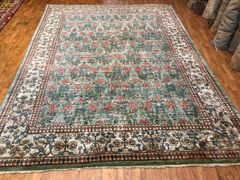 Decorative 100% pure Handwoven Indian rug size 9'x12'