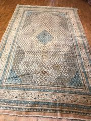 HANDWOVEN SEMI ANTIQUE PERSIAN MAHAL SIZE 7'X11'6""