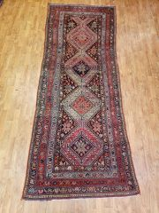 #L00700 HANDWOVEN PERSIAN 100% WOOL MALAYER RUG SIZE 3'X9'