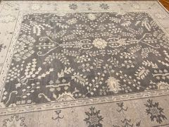HANDWOEN NEW OUSHAK DESIGN INDIAN WOOL RUG SIZE 8'X10'