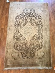 #S000200 HANDWOVEN PERSIAN TABRIZE RUG SIZE 3'X5'