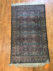 HANDWOVEN 100% PURE SILK CHINESE RUG SIZE 3'X5'