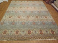 FINE QUALITY HAND WOVEN INDAIN RUG SIZE 8'X10'