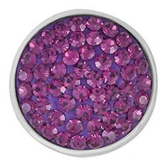 Ginger Snaps AMETHYST-TONED SUGAR SNAP Interchangeable Jewelry Snap Accessory