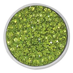 Ginger Snaps OLIVINE SUGAR SNAP Interchangeable Jewelry Snap Accessory