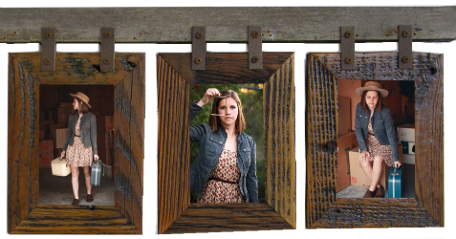 Montana 4x6 5x7 Or 8x10 Country 3 Vertical Picture Frame