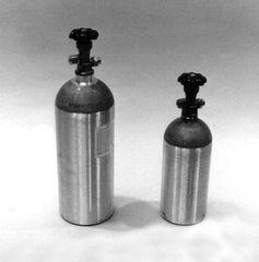 NIT-10- Aluminum Nitrogen Cylinder, 10 lb.