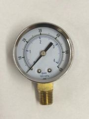 "GA172DS -0-60 PSI Gauge, 1/4"" NPT (M)"