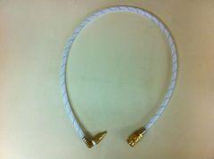 408A2 -3.5FT spray hose with 90% elbow on nipple