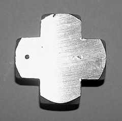 """918B-1D -Brass 1/8"""" NPT (F) Cross"""