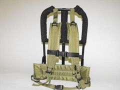 315JR -small backpack frame for holding plastic bottles and small CO2 cylinders