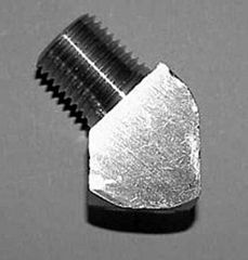 "915B-2D -Brass 1/4"" NPT (F) (M) Elbow"