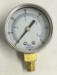 "GA182 - 0-60 PSI, 1/8"" NPT (M)"
