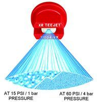 XR11001VP-XR11015VP -Polymer Extended range flat spray tips
