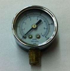 "GA402DS - O-100 PSI Gauge, 1/8"" NPT"