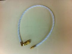 408A1 -3.5FT spay hose with 90% elbow on coupler end