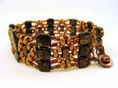 Golden Diamond Woven Bracelet