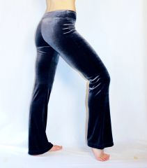 Velvet Awesome Pants Metallic Silver