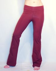 Yogawear Awesome Pants in Brick and Navy
