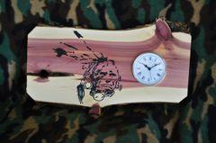 Custom Cedar Clock