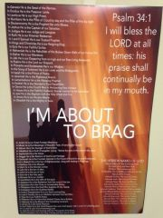 I'm About to Brag Poster