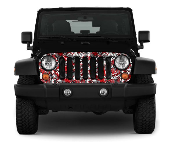 JEEP WRANGLER GRILL SKIN Grill Wrap Check Out Our GrillWheel - Camo skins fur minecraft
