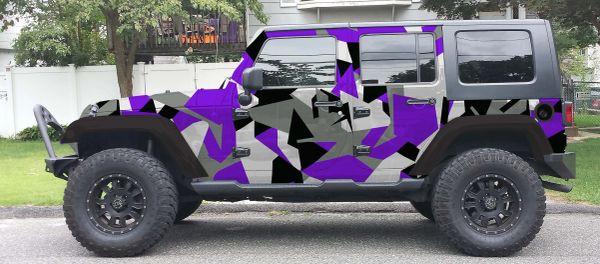 dbb8cbc6a6 3M GRAY KRYPTEK CAMO Vehicle Wrap Kit