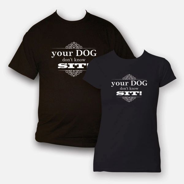Your dog doesn't know sit!