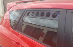 Gen 1 Mazdaspeed 3 07-09 & Mazda 3 Hatchback 04-09 Rear Window Track Vents
