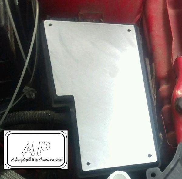 MAZDASPEED 3 07-09 Gen 1 Fuse Box Cover kit - Raw Aluminum