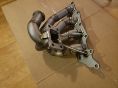 XS-POWER V3 - T3 FLANGE TURBO MANIFOLD WITH 44MM EXTERNAL WASTEGATE PORT - MAZDASPEED 3 & 6 - FOR T3 FLANGED TURBOS