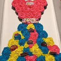 Shopkin Cupcake Cake