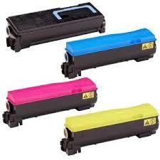 Kyocera Mita 1T02HG0US0 TK572K Black, 1T02HGCUS0 TK572C Cyan, 1T02HGBUS0 TK572M Magenta, 1T02HGAUS0 TK572Y Yellow TK572 Compatible Toner Cartridge