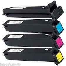 NEC A070131 TN411K Black, A070430 TN611C Cyan, A070330 TN611M Magenta, A070230 TN611Y Yellow Compatible Toner Cartridge