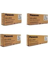 Panasonic DQ-UR3K Black DQ-UR3C Cyan DQ-UR3M Magenta DQ-UR3Y Yellow Genuine Toner Cartridge