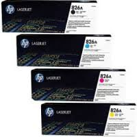 HP 826A CF310A Black CF311A Cyan CF312A Yellow CF313A Magenta Genuine Toner Cartridge