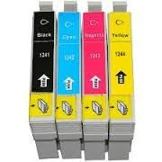 Epson 125 T125120 Black T125220 Cyan T125320 Magenta T125420 Yellow Compatible Inkjet Cartridge
