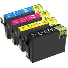 Epson 702XL T702xl120 Black T702xl220 Cyan T702xl320 Magenta T702xl420 Yellow T702XL-BCS BK,C,M&Y Compatible Inkjet Cartridge